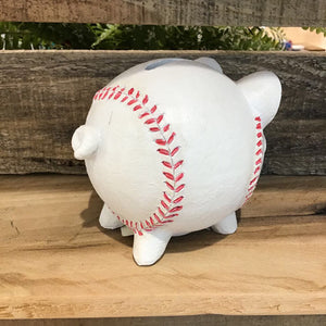 Piggy Bank- Baseball