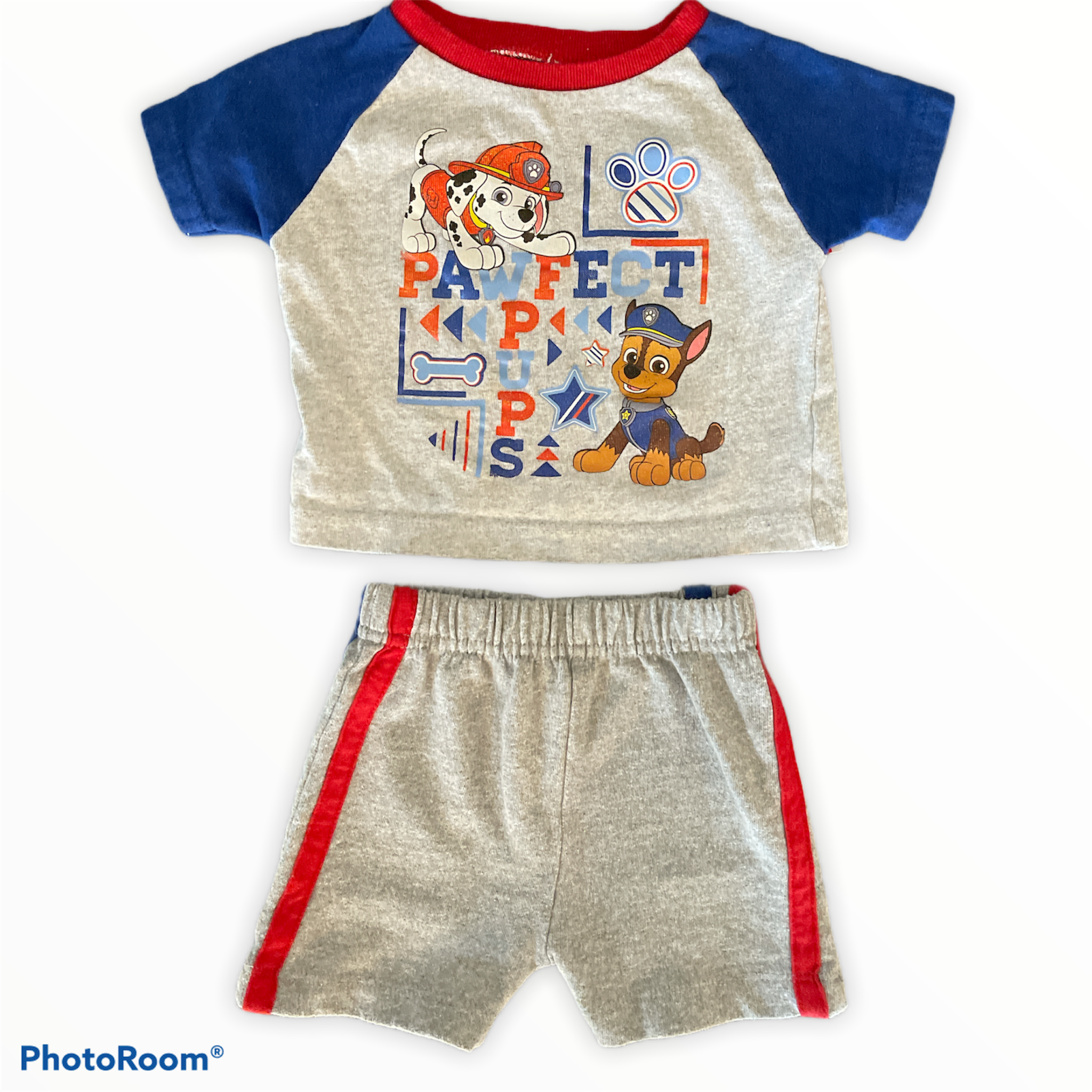 Nickelodeon 2 Piece Paw Patrol Pawfect Pups Size 0-3 Months