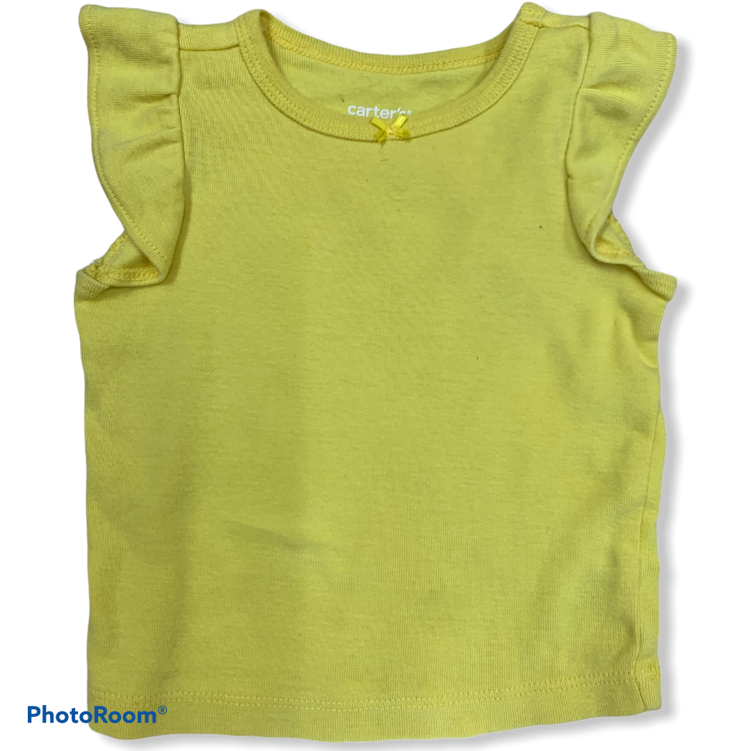 Carter's Yellow Tank Size 3 Months