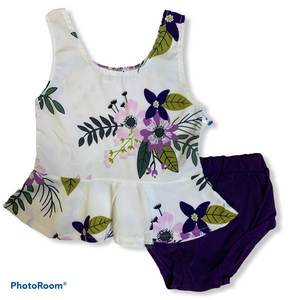 Floral 2 Piece Size 80 or 12 Months