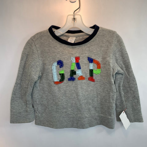 baby Gap Long Sleeve Grey Shirt Size 2
