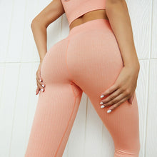 Load image into Gallery viewer, VAMOS FASHION - Premium, Stretchy, Seamless, Sportswear Set with High Waist Legging