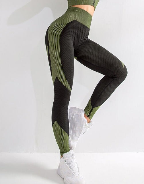 VAMOS FASHION - Women´s Seamless, Tight, Sexy Yoga Set