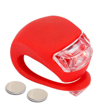 Load image into Gallery viewer, Bike Bicycle light Rechargeable LED Taillight USB Rear Tail Safety Warning Cycling light Portable Flash Light Super Bright