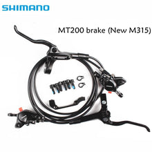 Load image into Gallery viewer, shimano BR BL MT200 M315 Brake bicycle bike mtb Hydraulic Disc Brake Set Clamp Mountain Bike Brake Update From M315 Brake mt200
