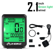 Load image into Gallery viewer, INBIKE Waterproof Bicycle Computer Wireless And Wired MTB Bike Cycling Odometer Stopwatch Speedometer Watch LED Digital Rate