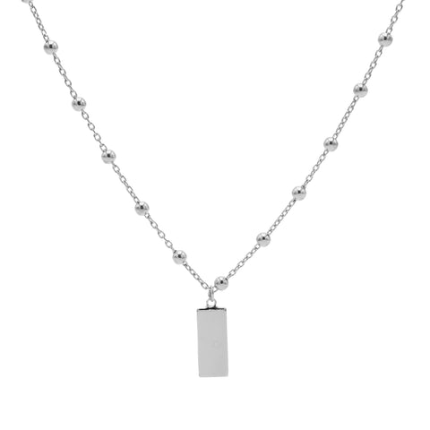 Ketting Karma Zilver T74