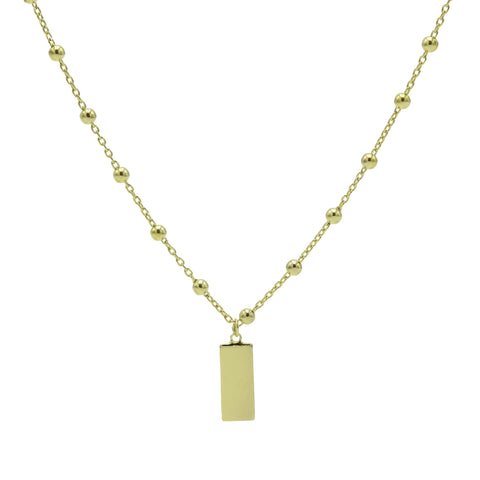 Ketting Karma Zilver T76