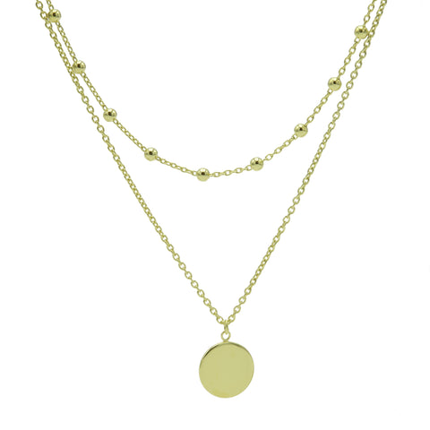 Ketting Karma Zilver T82