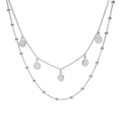 Ketting Karma Zilver T86