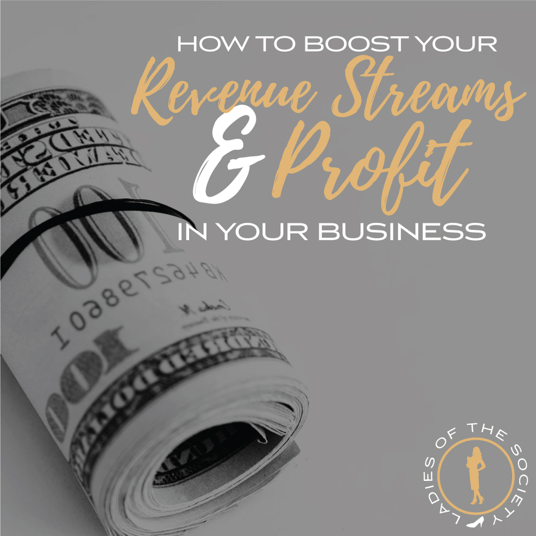 Business Growth Class-Grow Your Revenue Streams.