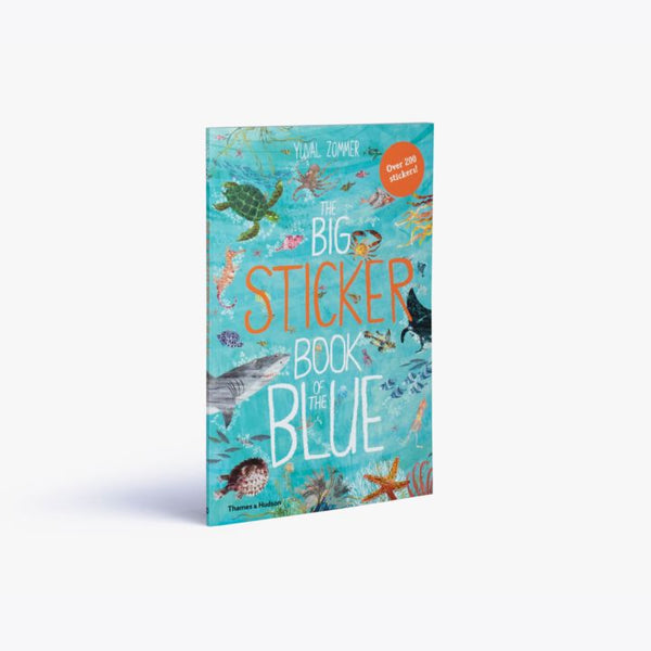 The Big Sticker Book of Blue