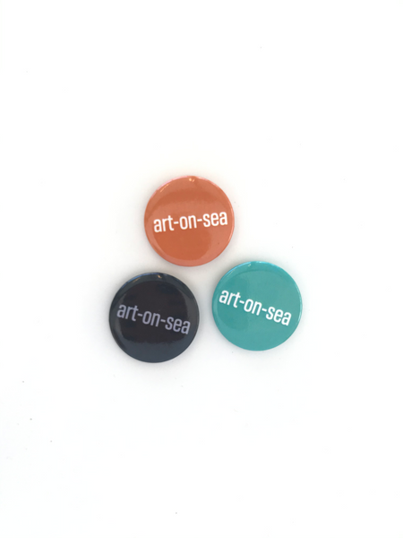 Art-On-Sea Badge Set