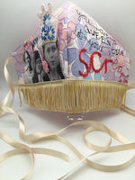 Speak To Me 'You Are A Queen, Let Your Voice Scream' Textile Sculpture by Janey Moffatt