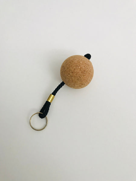 Cork Keyring: Ball