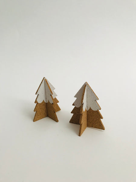 Pop-A-Cork Decoration: Two Trees