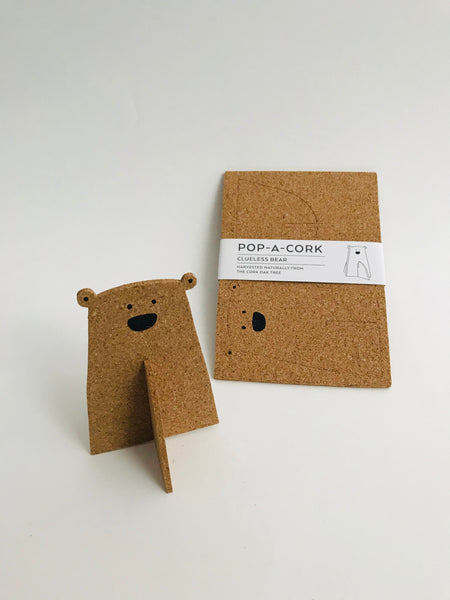 Pop-A-Cork Decoration: Bear