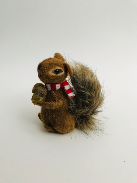 Christmas Squirrel Decoration