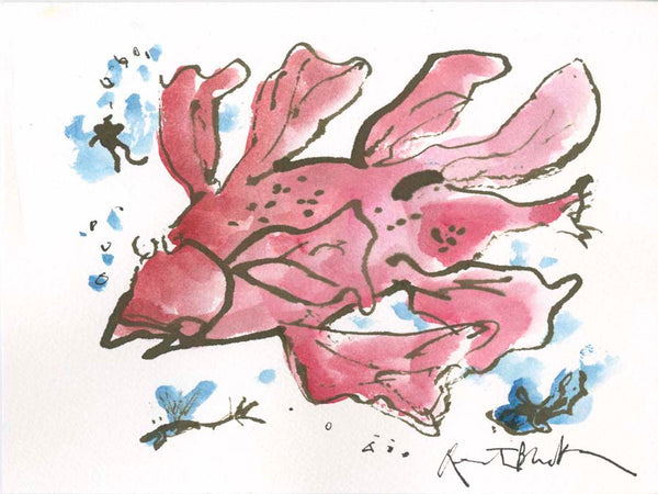 Original Quentin Blake artwork: LP215/074