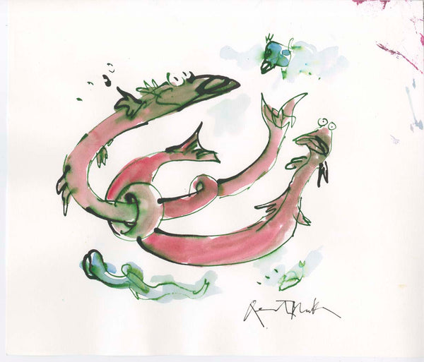 Original Quentin Blake artwork: LP215/078