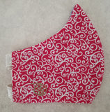 Unisex Fabric Face Covering - multiple designs