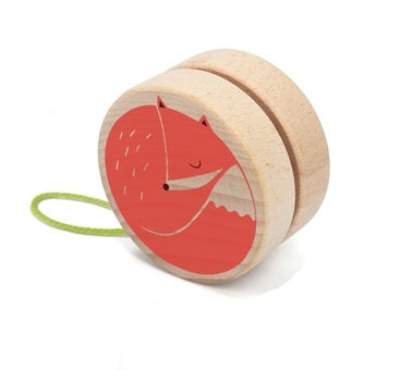 Wooden Yo-Yo: Fox