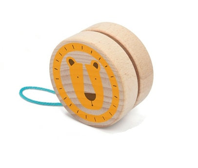 Wooden Yo-Yo: Lion