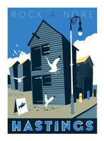 Hastings Print - Rock-A-Nore