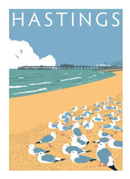 Hastings Print - Pelham Beach