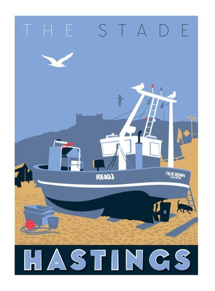 Hastings Print - The Stade