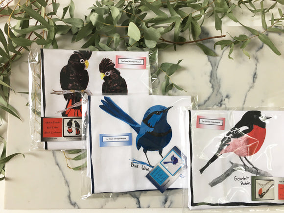 Nannup Bird Tea Towels
