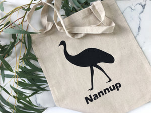 Emu Hemp Bag