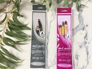 Mont Marte Gallery Series - Brush Sets