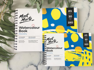 Mont Marte Watercolour Books & Pads