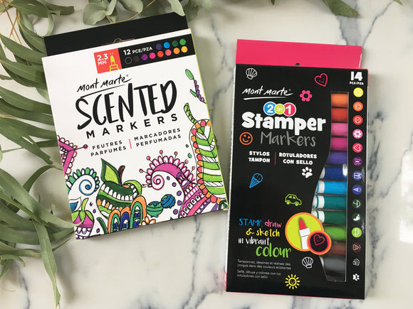 Mont Marte Scented and Stamper Markers