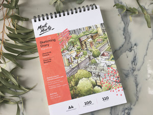 Mont Marte Signature Sketching Diary & Pads
