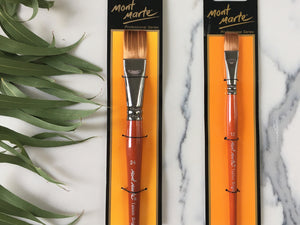 Mont Marte Taklon Brushes
