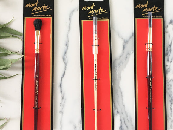 Mont Marte Water Colour Brushes
