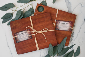Bruce's Mini Jarrah Cutting Boards