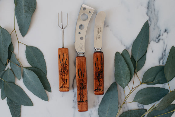 Jarrah Handled Utensils