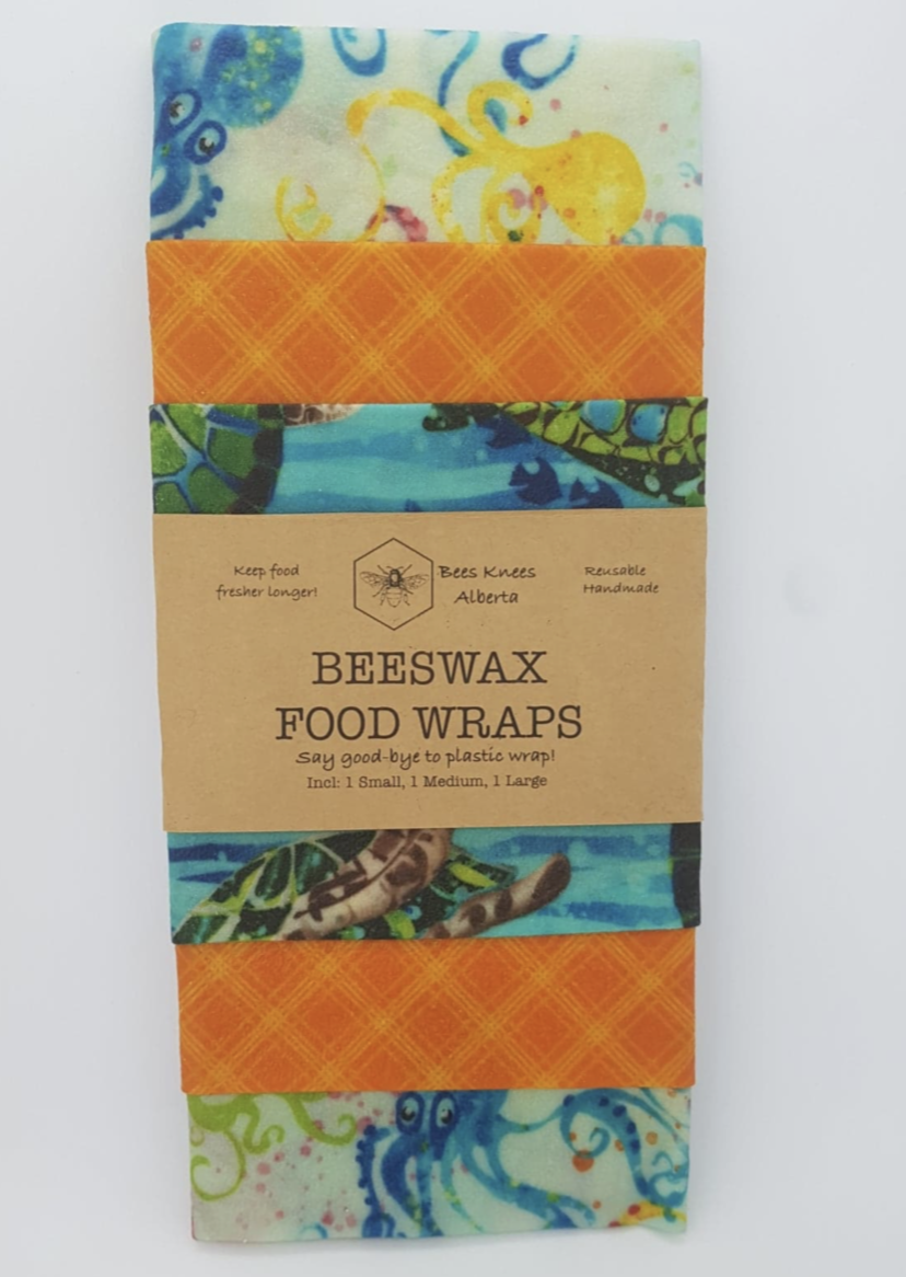 Beeswax Food Wraps - Sea Creatures