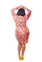MULTI COLOR MIDI LENGTH- ORANGE