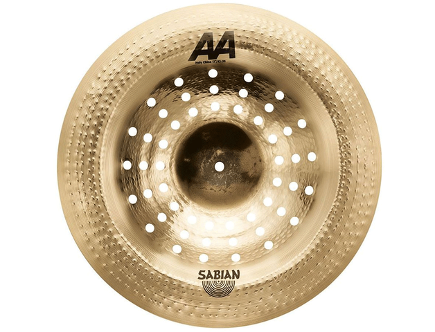 "PLATILLO SABIAN AA 17"" HOLY CHINA"