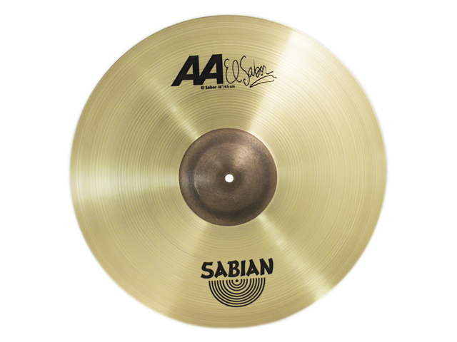 "PLATILLO SABIAN AA 18"" EL SABOR CRASH"