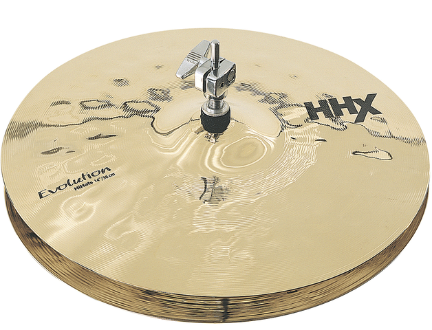 "PLATILLOS SABIAN HHX EVOLUTION 14"" HATS"