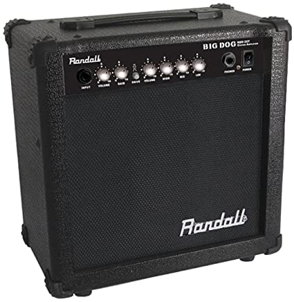 AMPLIFICADOR DE GUITARRA ELECTRICA 25W BIG DOG RANDALL