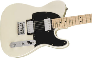 Guitarra Eléctrica Squier Contemporary Telecaster HH Maple Fingerboard Pearl White 371222523