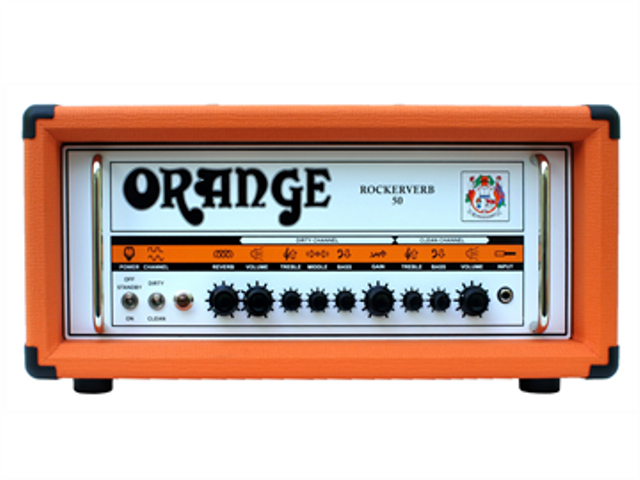 "AMPLIFICADOR ORANGE ""ROCKERVERB MKII"" PARA GUITARRA ELECTRIC"
