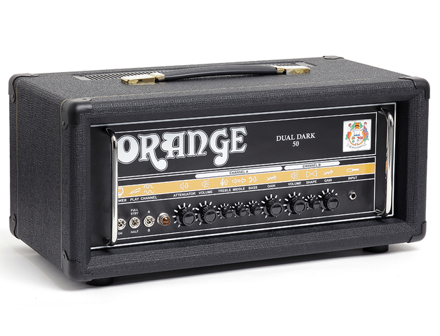 "AMPLIFICADOR ORANGE ""DUAL DARK"" PARA GUITARRA ELECTRICA, 50W"