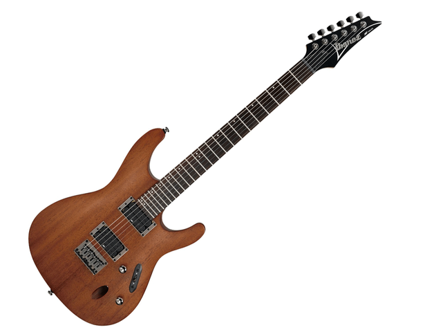 "GUITARRA ELECTRICA IBANEZ ""S"" CAOBA MATE"
